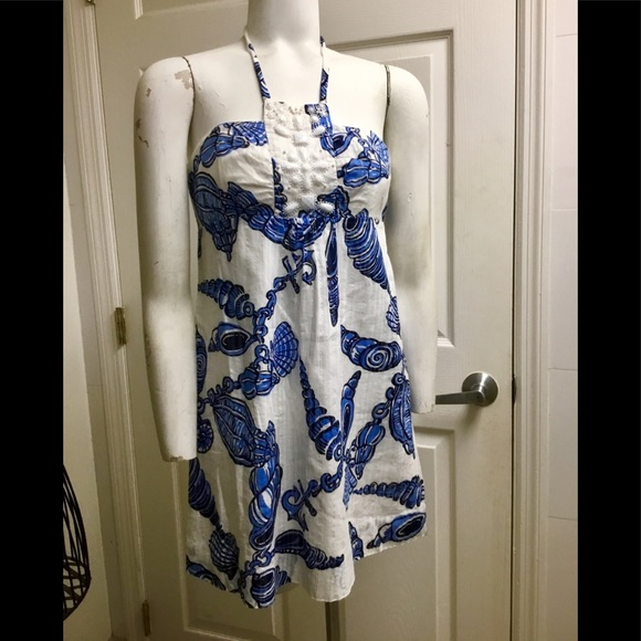 Lilly Pulitzer Dresses & Skirts - Lilly Pulitzer halter neck dress size 2
